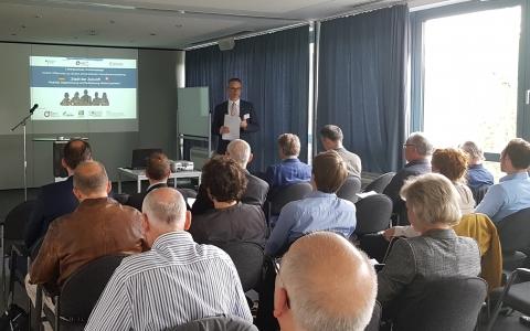 """Informations- und Präsentationsveranstaltung """"Stadt der Zukunft"""" in Dresden"""