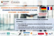 Evénement de coopération franco-allemande à Paris et Lyon (19.10.21 & 20.10.21)